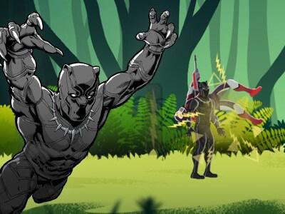 Pantera Negra: Perseguição na Selva