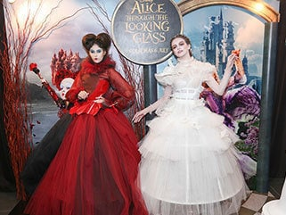 Alice Through the Looking Glass Fashion Collection
