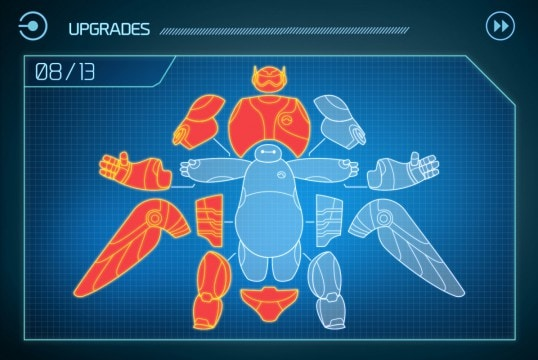 Upgrades Code Baymax