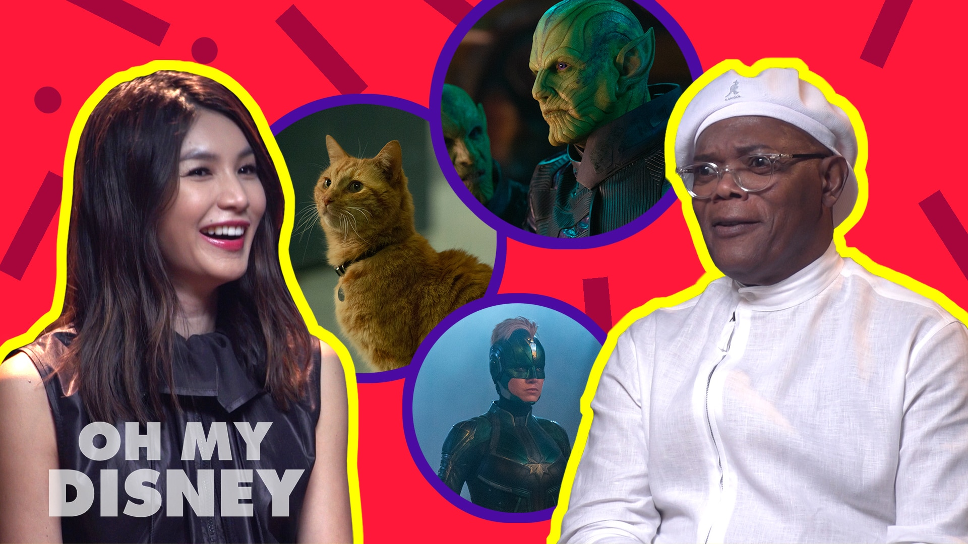 "Disney Insider: ""This Or That"" With Samuel L. Jackson, Gemma Chan And More"