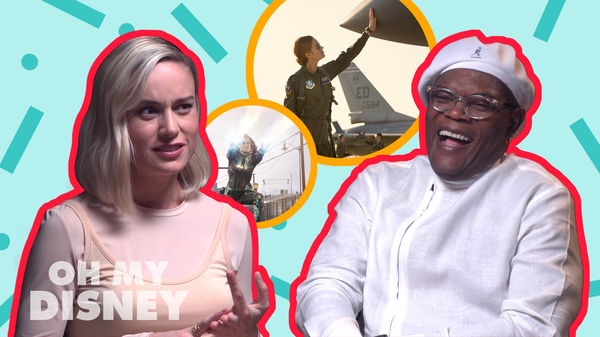 "Disney Insider: Marvel Studios' Captain Marvel's Cast And Directors Tell Us ""What Would You Bring Back From The '90s?"""