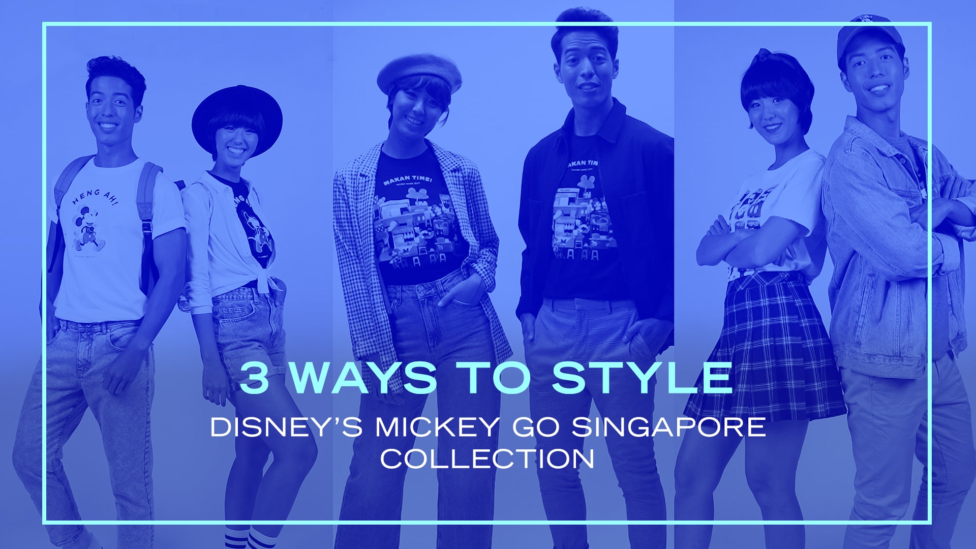How To Style Disney's Mickey Go Singapore Collection