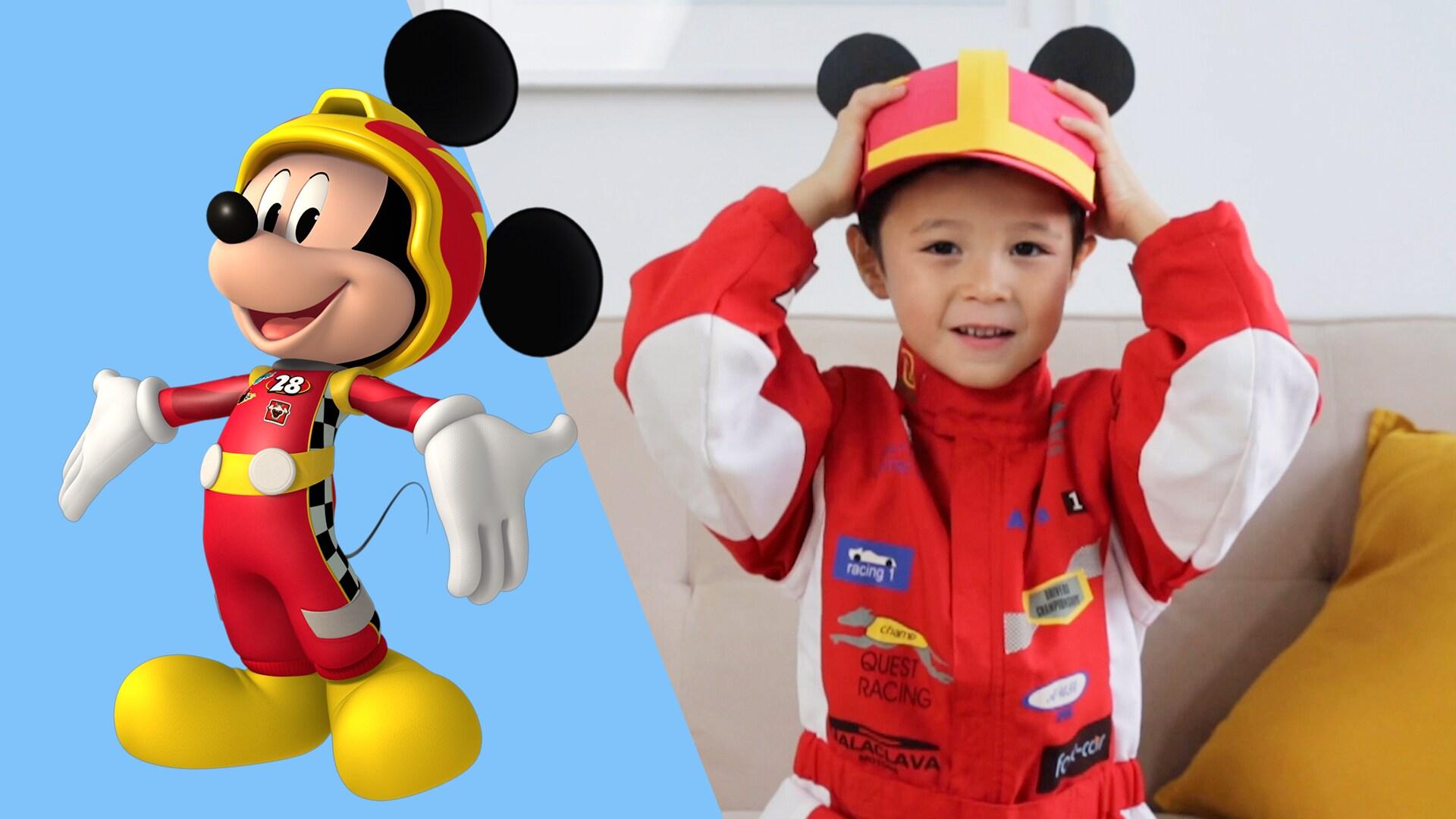 """Kreasi Kertas """"Mickey Mouse And The Roadster Racers"""" Yang Sangat Cocok Untuk Calon Pembalap"""