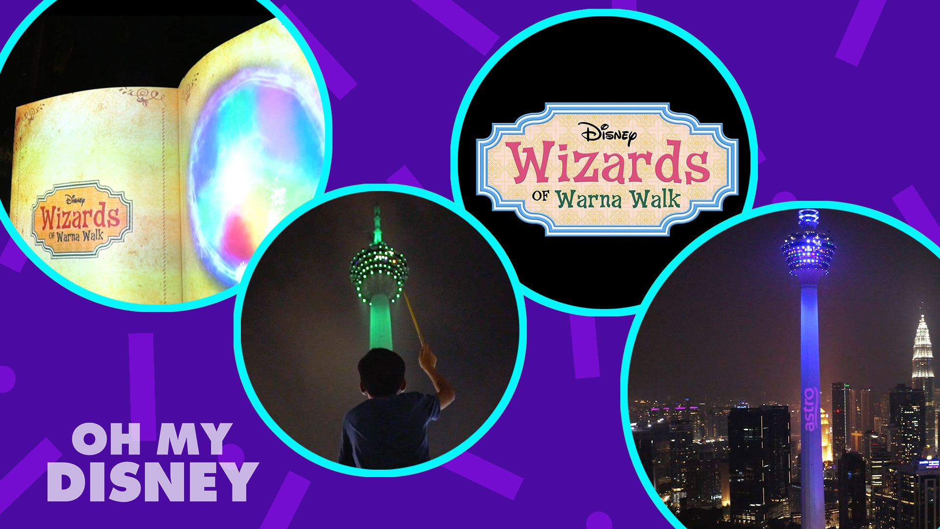 Disney Channel's Wizards Of Warna Walk Casts A Spell On KL Tower!