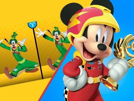 Encuentra las diferencias de Mickey