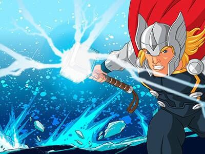 Thor: Ataque do Gigante de Gelo