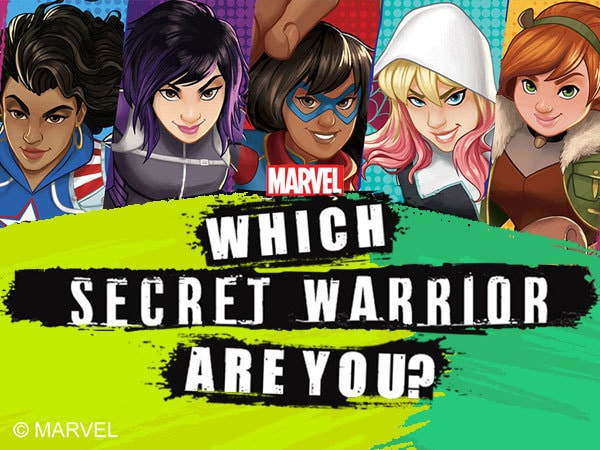 Which Secret Warrior Are You?