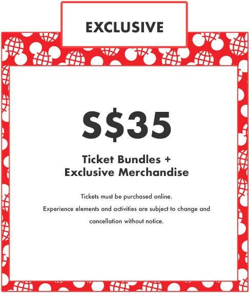 Exclusive Ticket - Pop Up Disney! - S$35