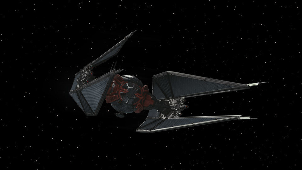 Kylo Ren S Modified Tie Whisper Starwars Com