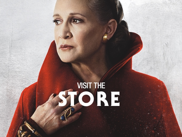 The Last Jedi Hero tiles - Visit the Store - Leia - Homepage AU