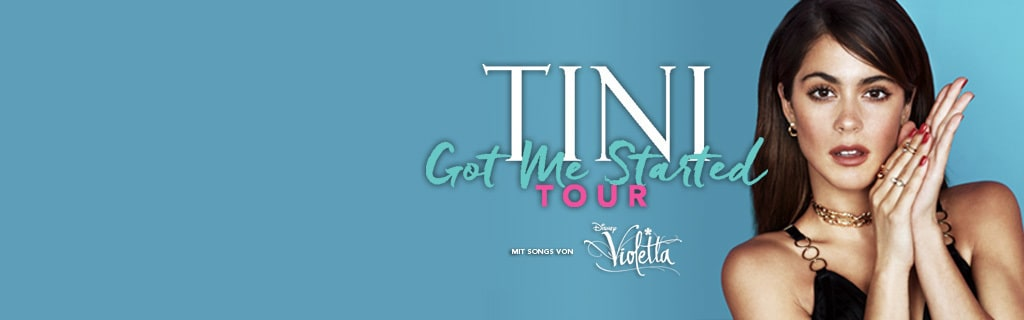 Tini Tour Disney LIVE Hero