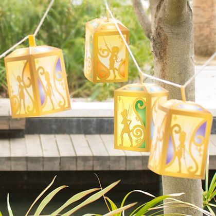 Pirate Fairy Paper Lanterns