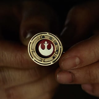 Rebel insignia ring