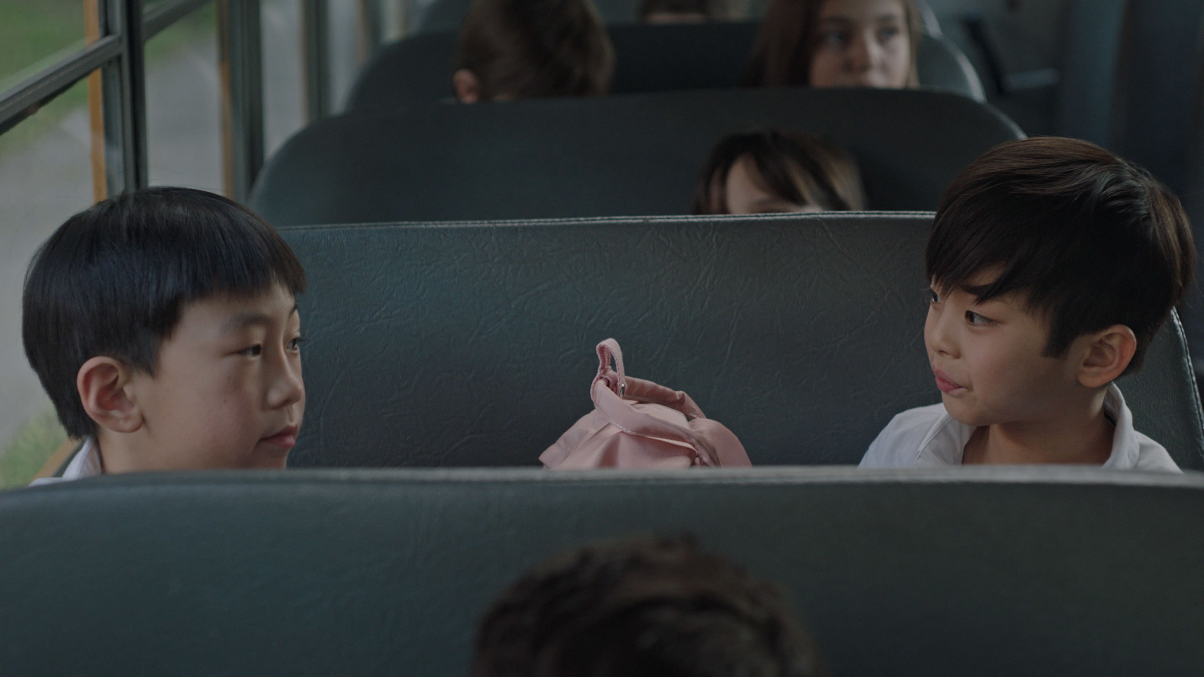 """(L-R): Ching Yin Ryan Hu as Rob and Kalo Moss as Gabriel in Disney's """"LAUNCHPAD"""" Season One short, """"THE LITTLE PRINCE(SS),""""Written and Directed by Moxie Peng. Photo courtesy of Disney. © 2021 Disney Enterprises, Inc. All Rights Reserved."""