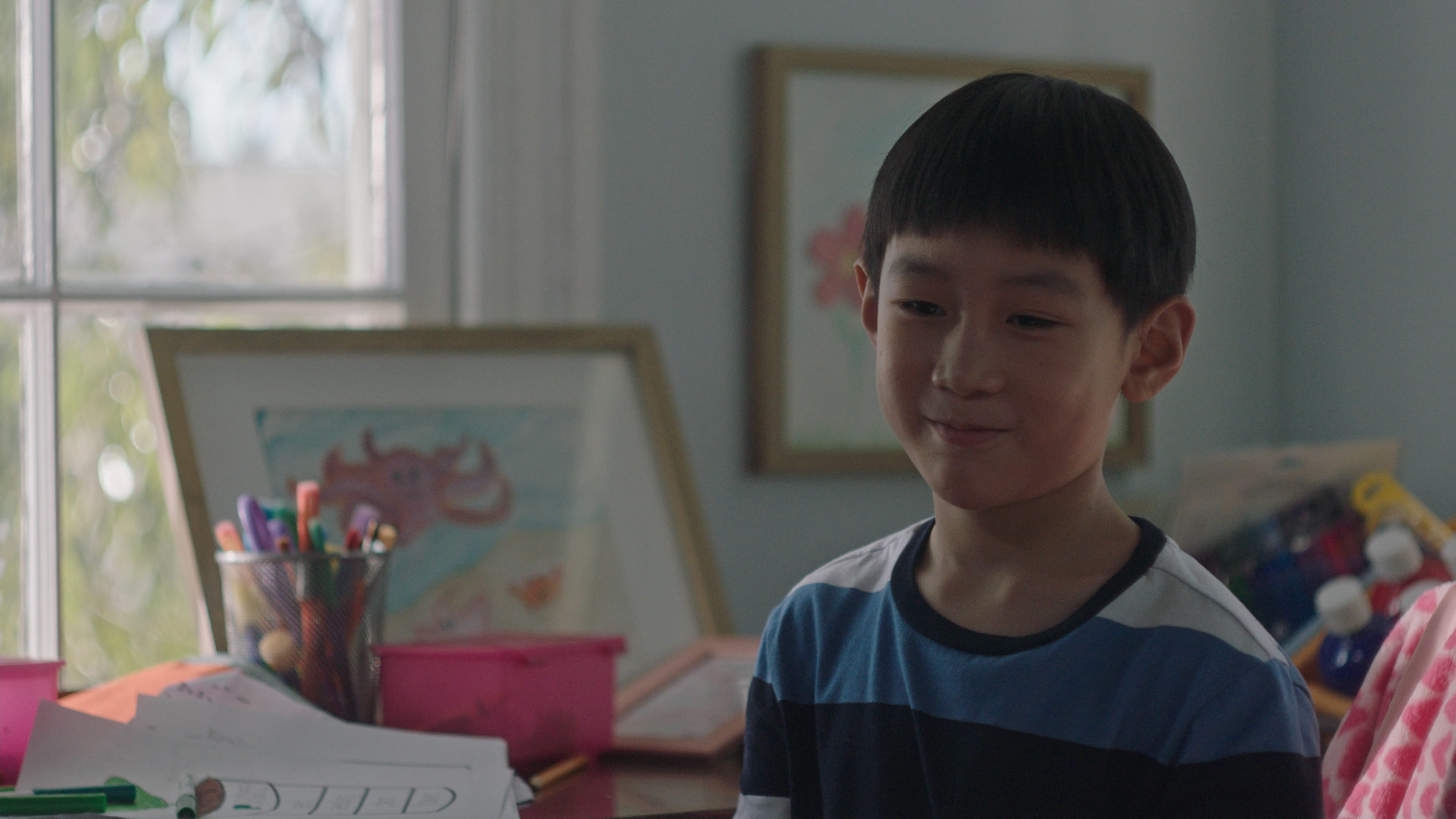 """Ching Yin Ryan Hu as Rob in Disney's """"LAUNCHPAD"""" Season One short, """"THE LITTLE PRINCE(SS),""""Written and Directed by Moxie Peng. Photo courtesy of Disney. © 2021 Disney Enterprises, Inc. All Rights Reserved."""
