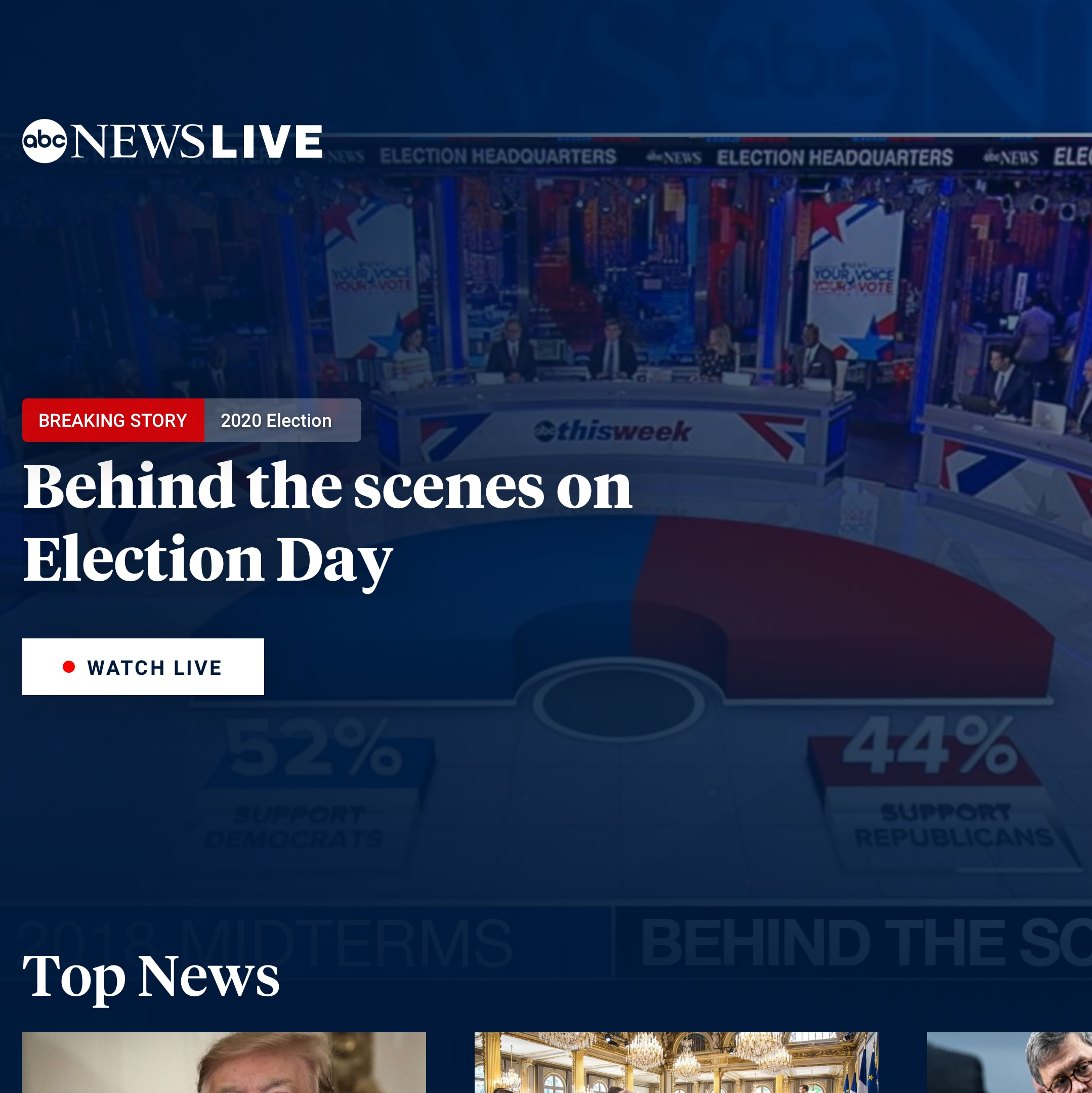 ABC News Live and ABC Owned Television Stations Launch New Apps on Streaming Platforms