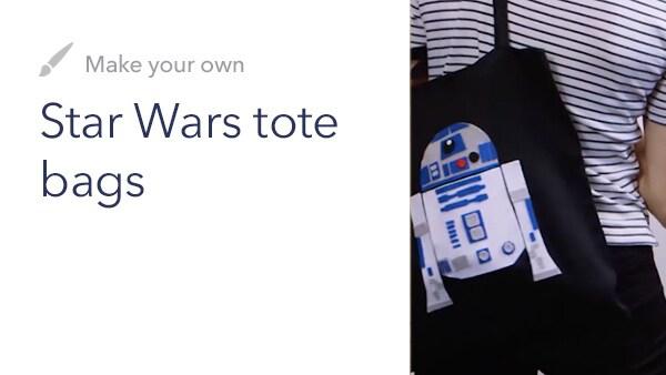 Family - DIY: Star Wars Tote Bags - Near Future Slider - Homepage - Link AU