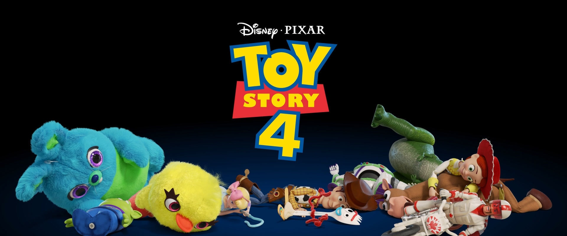Disney•Pixar Toy Story 4 - In Cinemas - Animated Banner