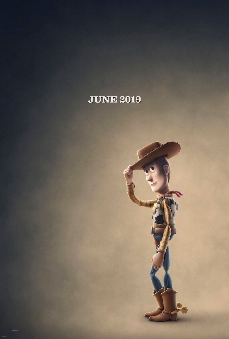 June 2019 Woody from Toy Story 4