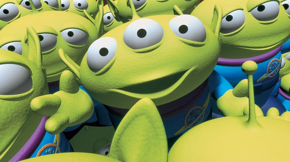 """'Aliens"""" animated characters from the movie """"Toy Story"""""""