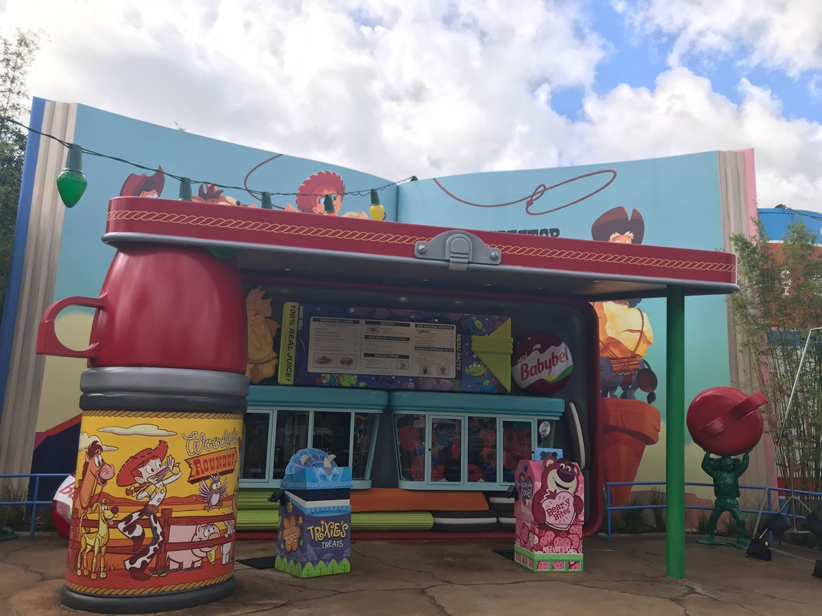 Woody's Lunchbox in Toy Story Land in Walt Disney World