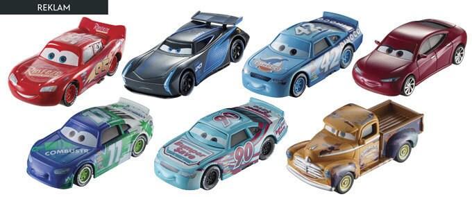 Cars 3 Karakter Araçlar