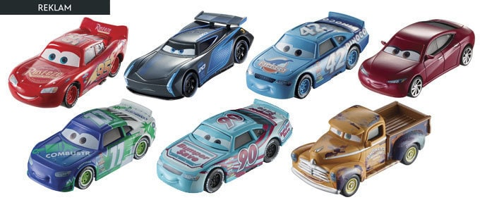 Cars 3 Tekli Karakter Araçlar