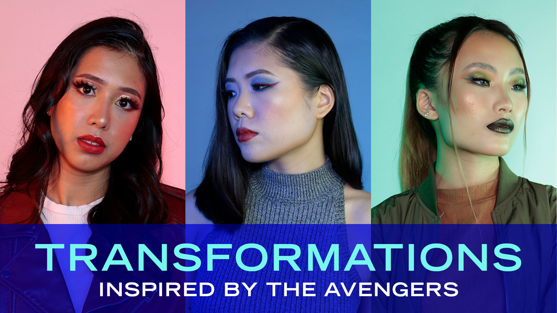 Disney Style: Marvel Heroes Beauty Transformation