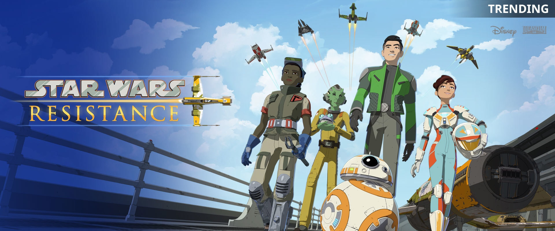 Star Wars Resistance | TV | Trending