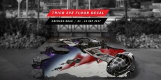 Crait Trick Eye Floor Decal / 10.00AM – 10.00PM