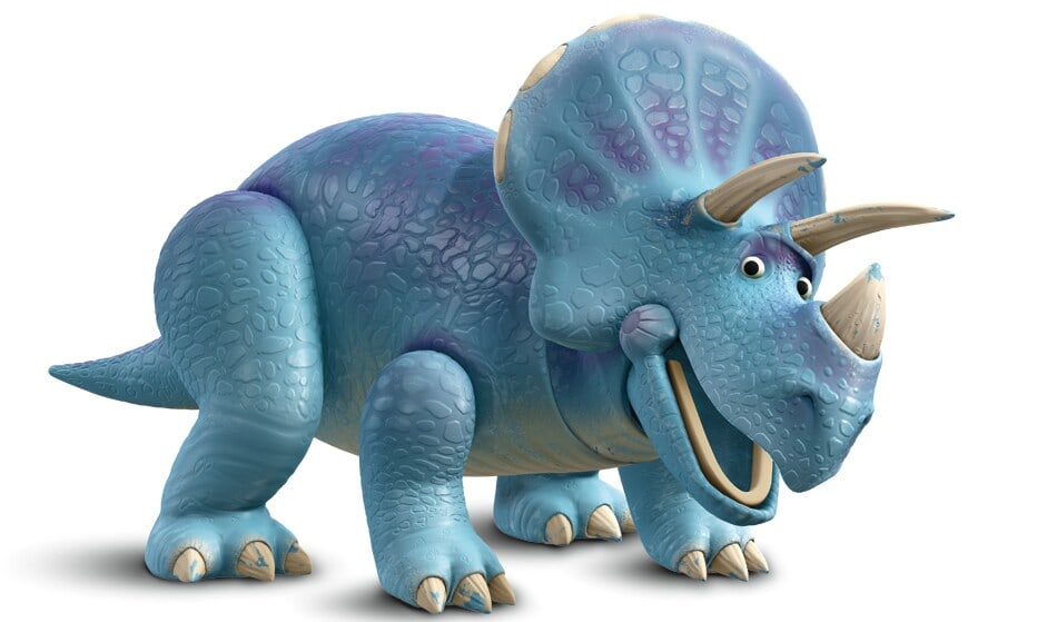 """Animated character Trixie (Triceratops) from the movie """"Toy Story 3"""""""