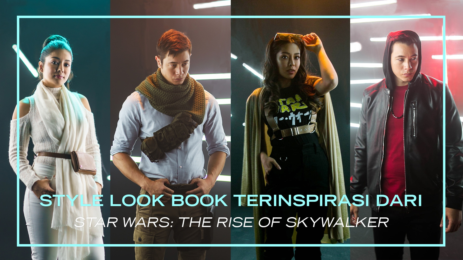 Disney Style: Look Book Inspired By Star Wars: The Rise Of Skywalker