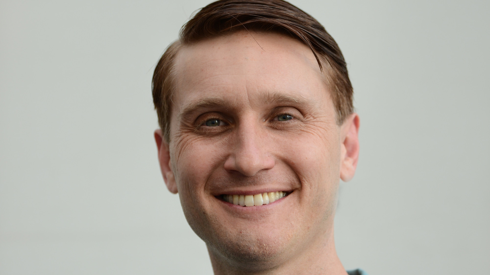 Aaron Staton as Wally Schirra in National Geographic's THE RIGHT STUFF streaming on Disney+. (National Geographic/Gene Page)