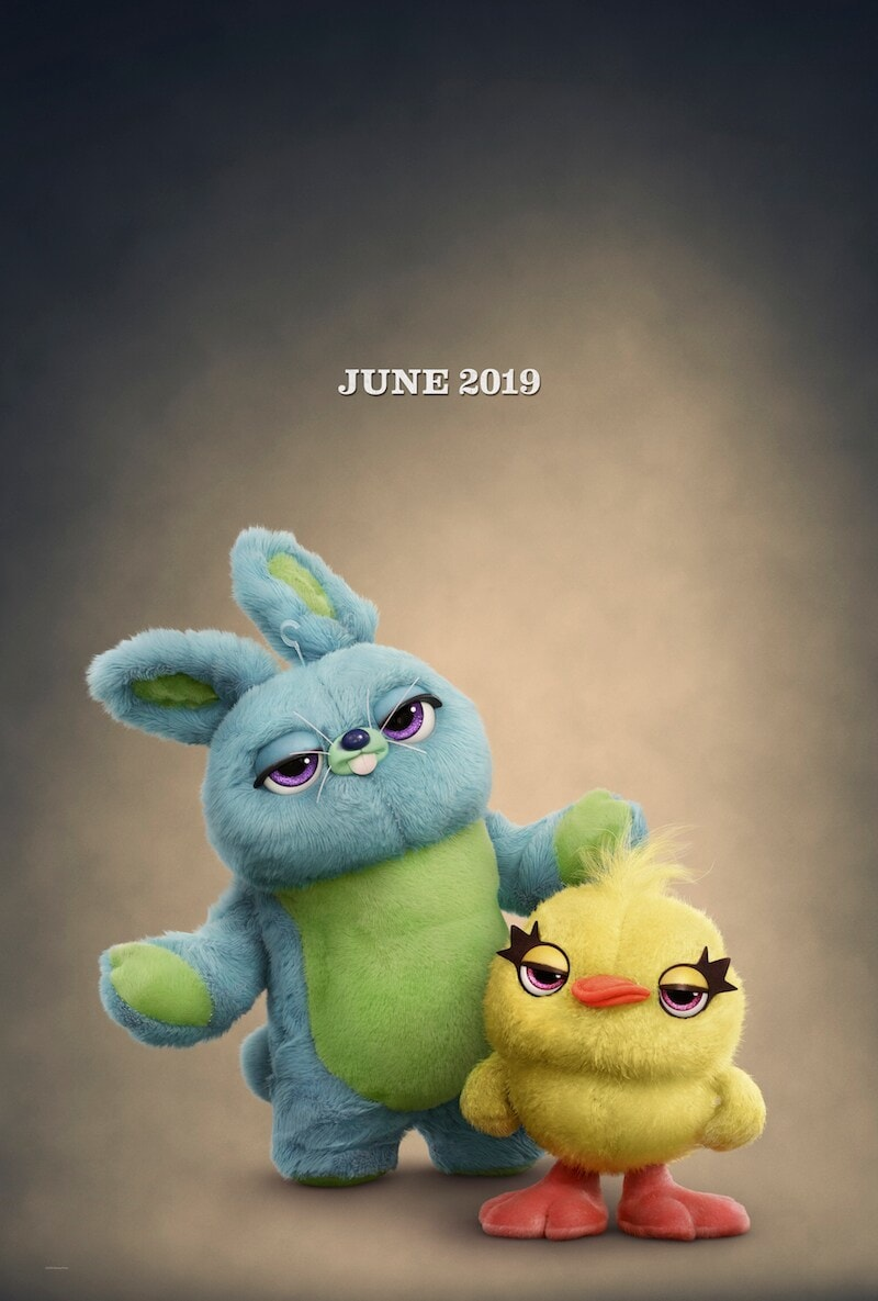 June 2019, Bunny and Ducky