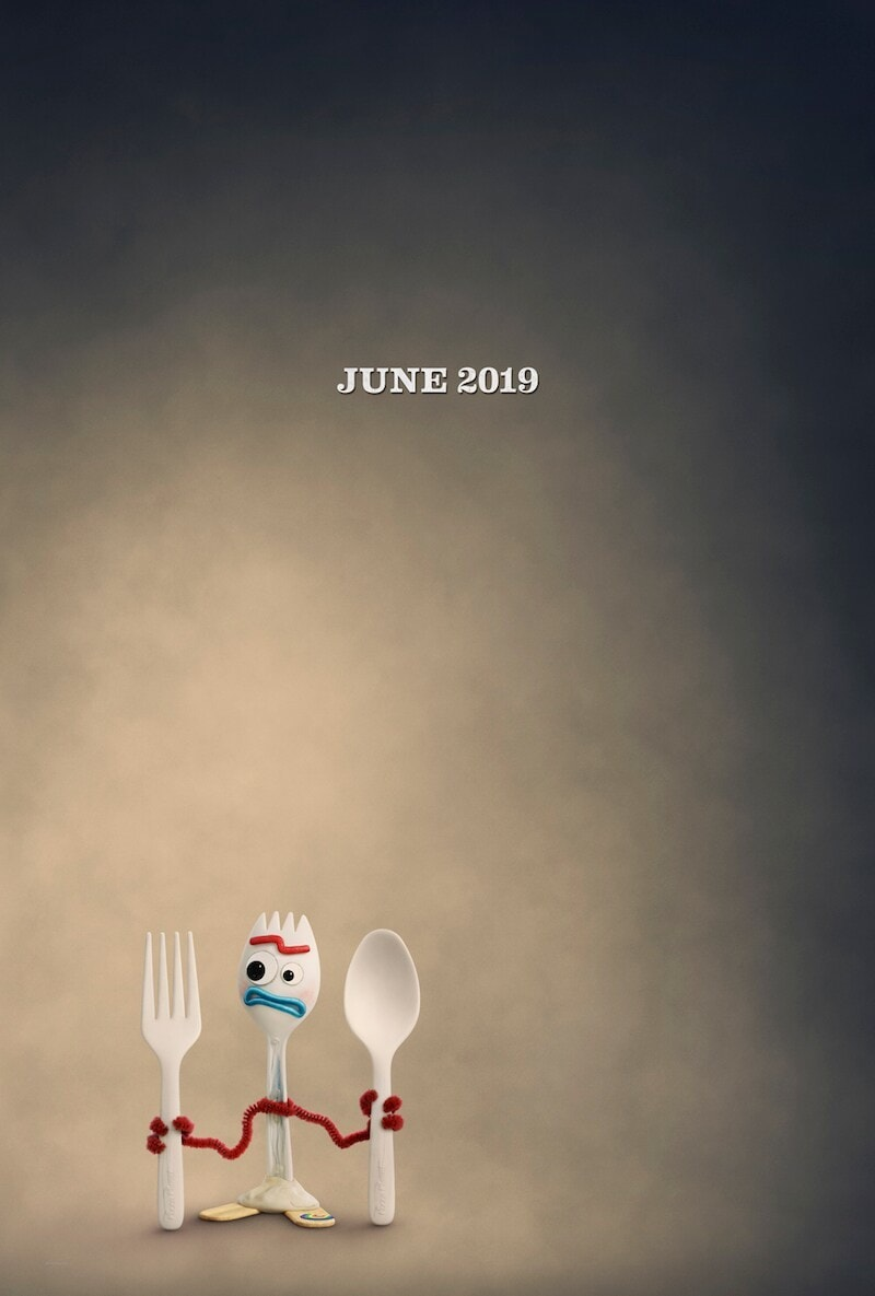June 2019 Forky holding a fork and spoon