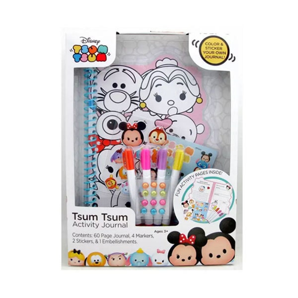 Disney Tsum Tsum Activity Journal