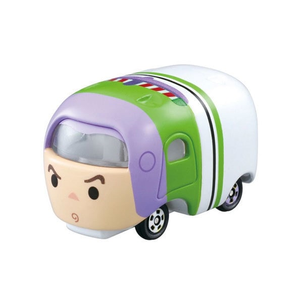 Tomica Disney Motors Tsum Tsum Buzz The Light Year (White)