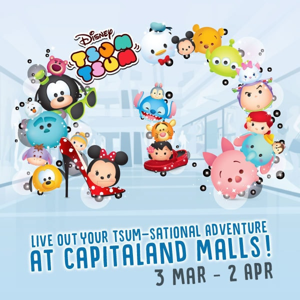Live out your Tsum-sational Adventure