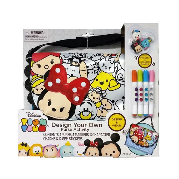 Disney Tsum Tsum Design Your Own Purse Activity