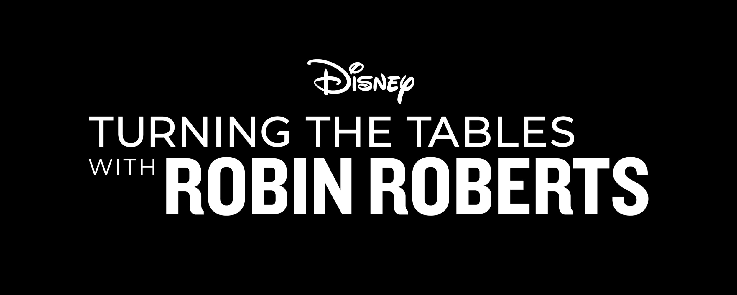 Turning the Tables with Robin Roberts Media Kit