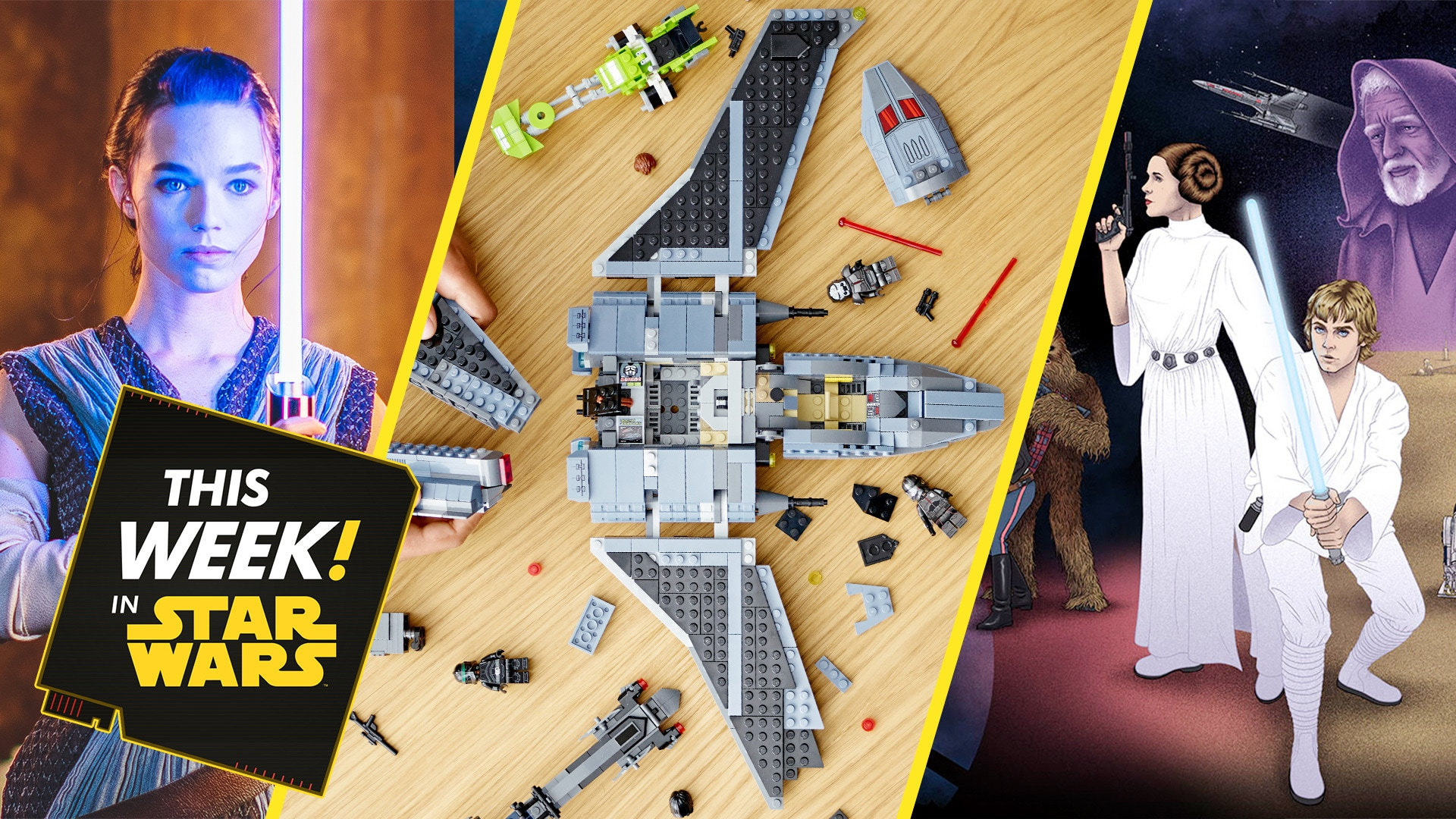 The Bad Batch Has Arrived, Hyperspace Lounge Visits Endor, and More!