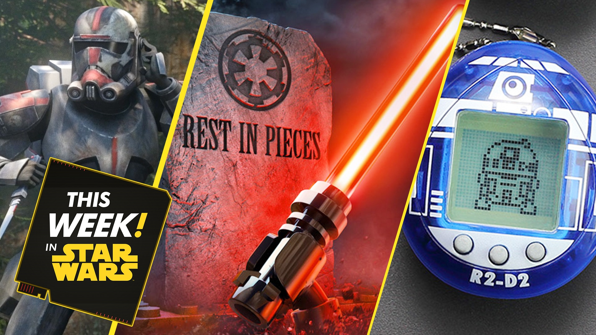 LEGO Star Wars Terrifying Tales, Tamagotchi R2-D2 Revealed, and More!