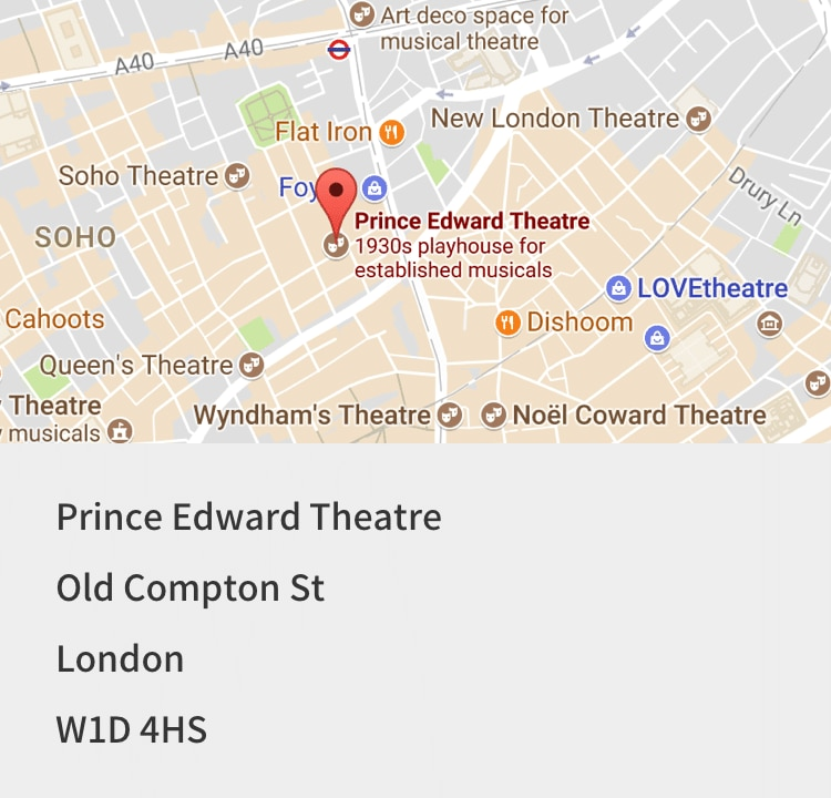 Aladdin Tickets, Prince Edward Theatre | Book with Disney