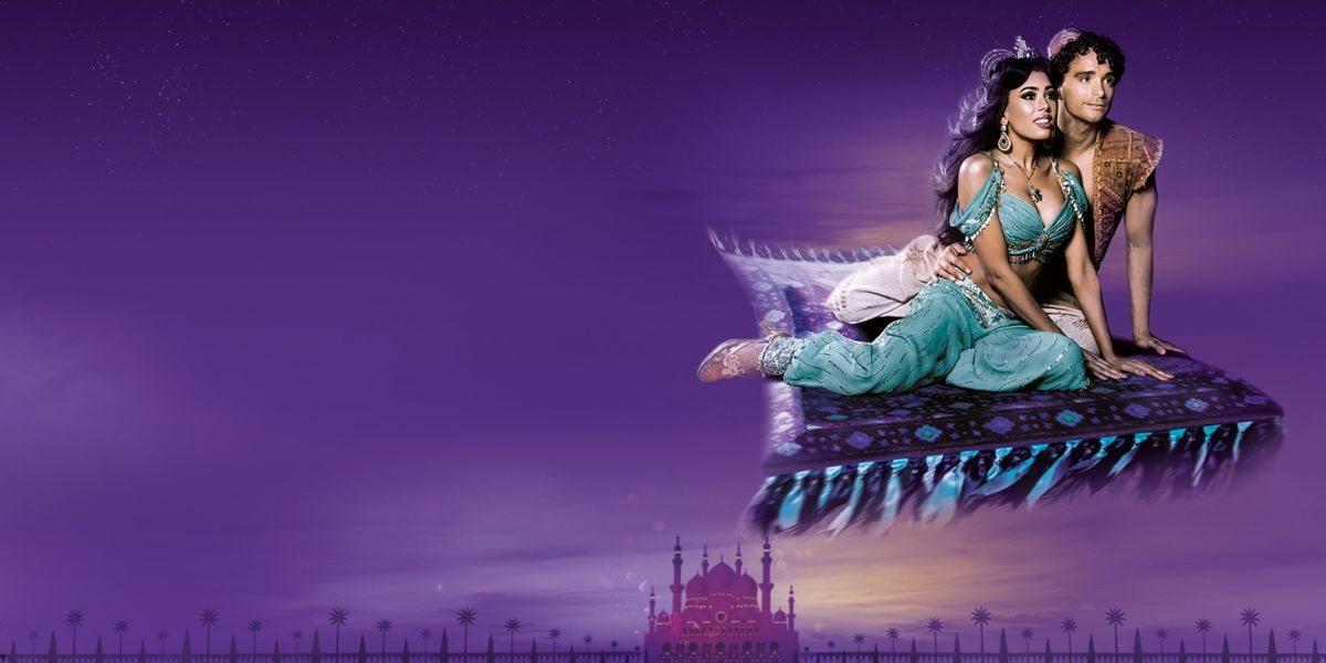 Disneys Aladdin Prince Edward Theatre London