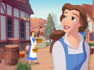 free online games to play  Beauty and the Beast  Belle     s Adventure