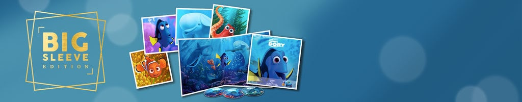 UK - Big Sleeve Short Hero (Finding Dory)