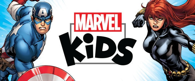 Marvel Kids-aktiviteter