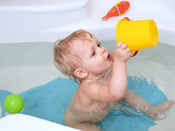 Five Baby Bath Games