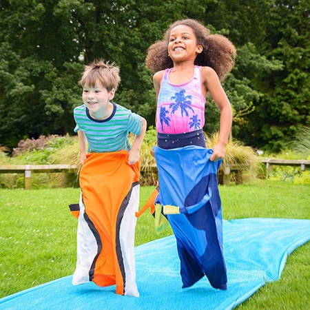 Play: Underwater Sack Race