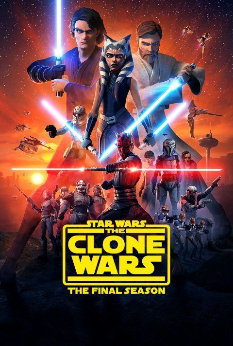Disney Plus - Star Wars: Clone Wars: The Final Season - Poster